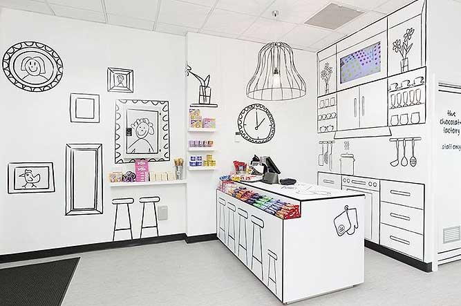 The Candy Room - An Amazing Black & White Shop filled with Delight!
