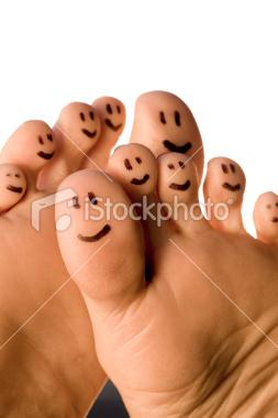 Happy Feet | Stock Photo | iStock