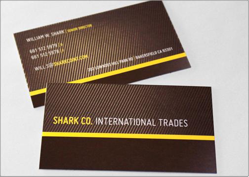 Business Card Template | TOI Design | Shark Co.