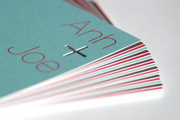 Tran / Capitano Wedding Invite