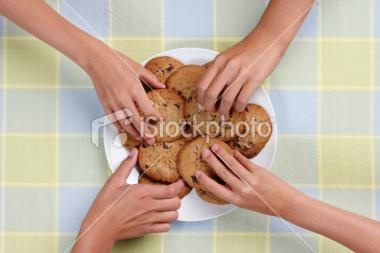 Cookie Snack Plate | Stock Photo | iStock