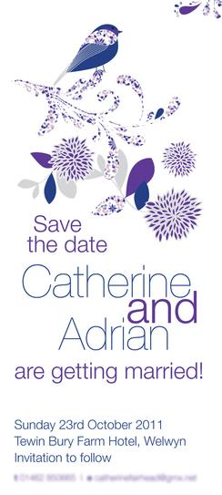 Wedding invitations | print design