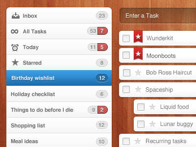 Wunderkit tasks by Sebastian Scheerer