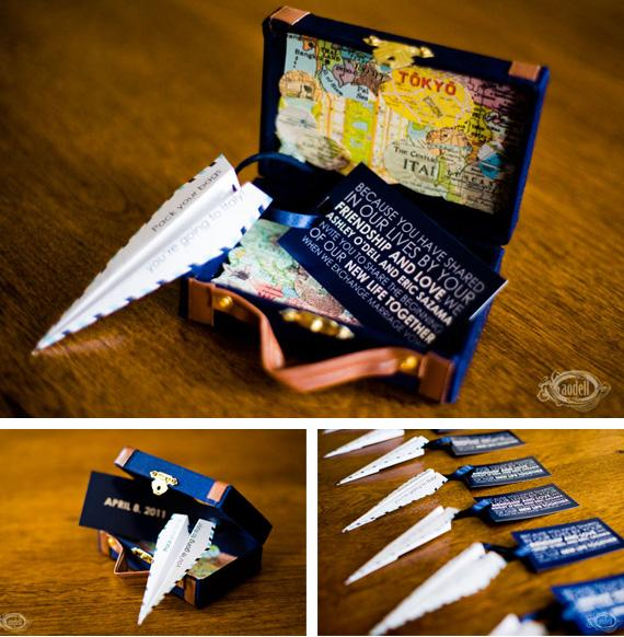 Destination Save The Dates in Ideas of planning, organizing and decorating weddings