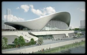 Aquatics Centre London UK | Stepbystep.com