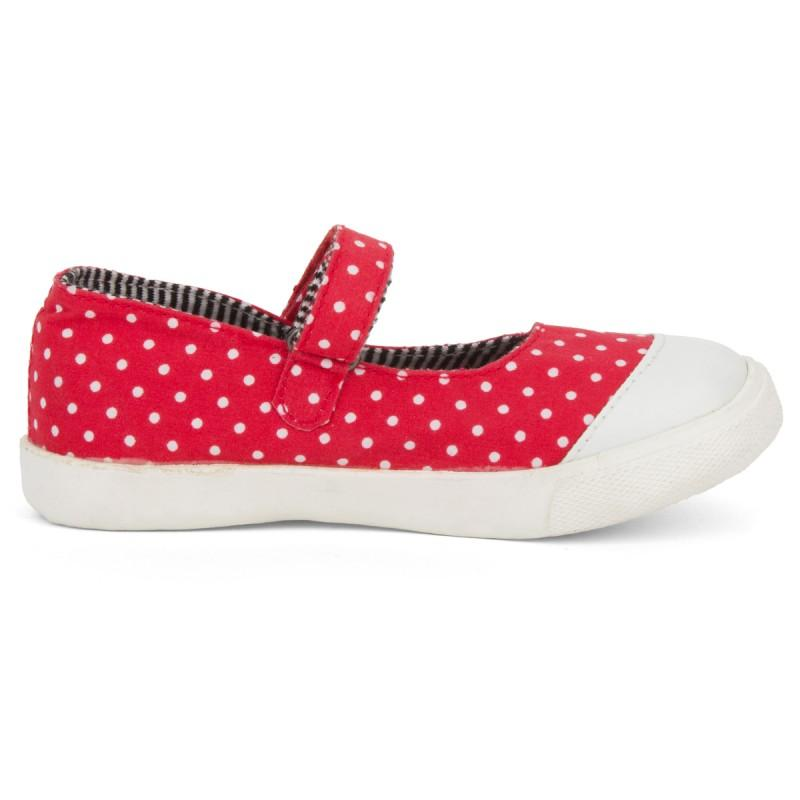 Catimini babies Red polka dot shoes | Alexandalexa