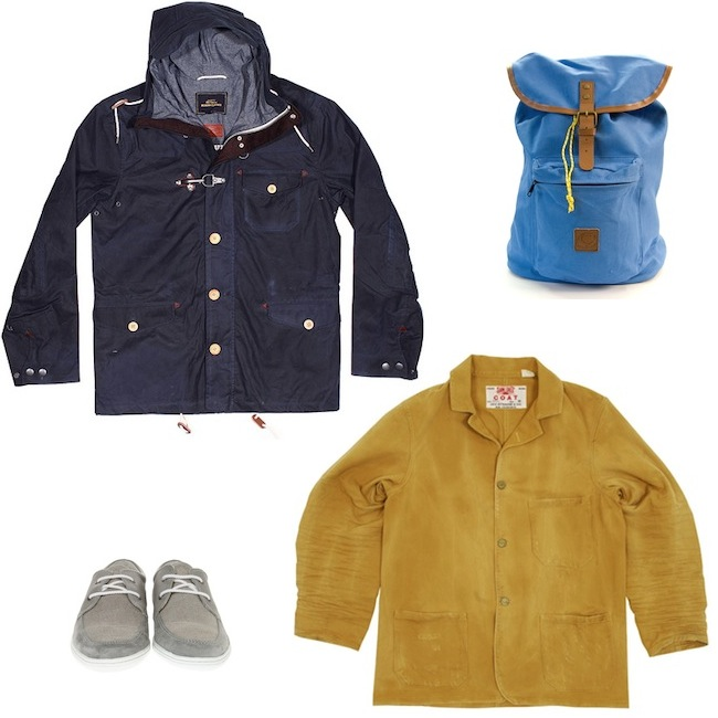 Ben Sherman Modern Classics Blue Hooded Jacket | Levi's Vintage Sunset Yellow Worn Workwear Coat | Penfield Idlewood Blue Canvas Backpack | Pointer Barajas Light Grey Canvas Shoe discount sale voucher promotion code | fashionstealer