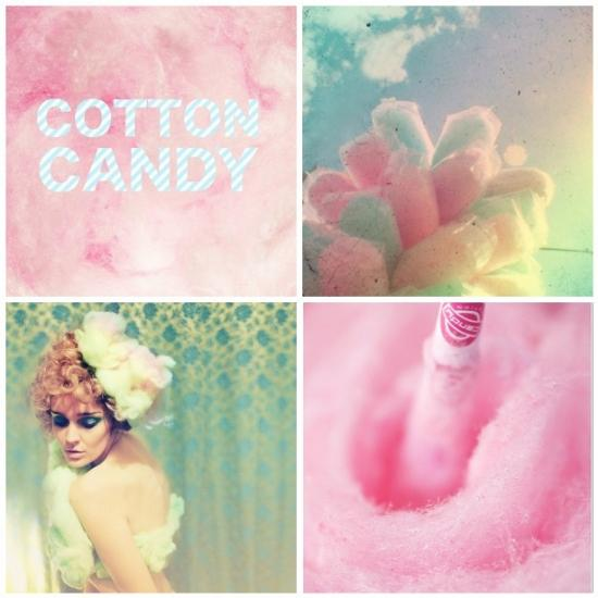 Inspiration: Colorful Cotton Candy « JoyHey