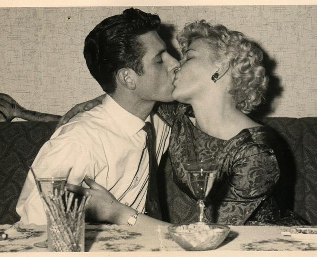 big 50's kiss | Flickr - Photo Sharing!