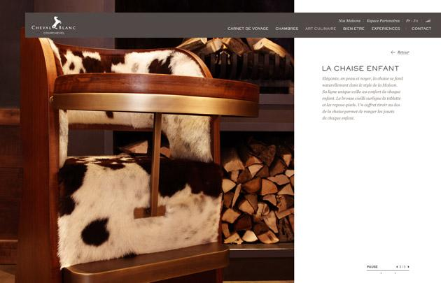LVMH Cheval Blanc | UZIK | Agence de communication interactive