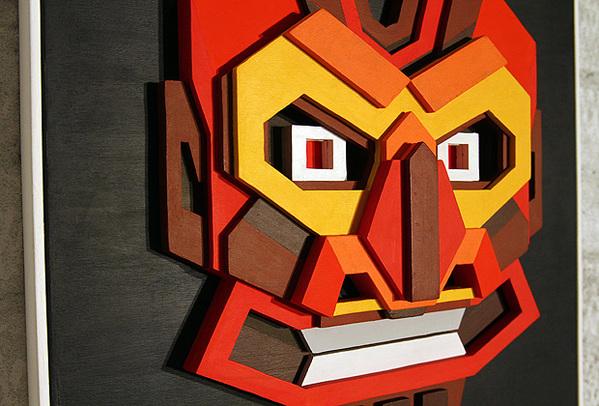 Plywood artworks