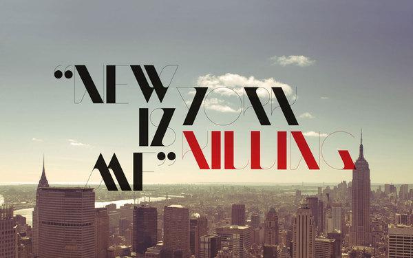 NewModern — Typeface