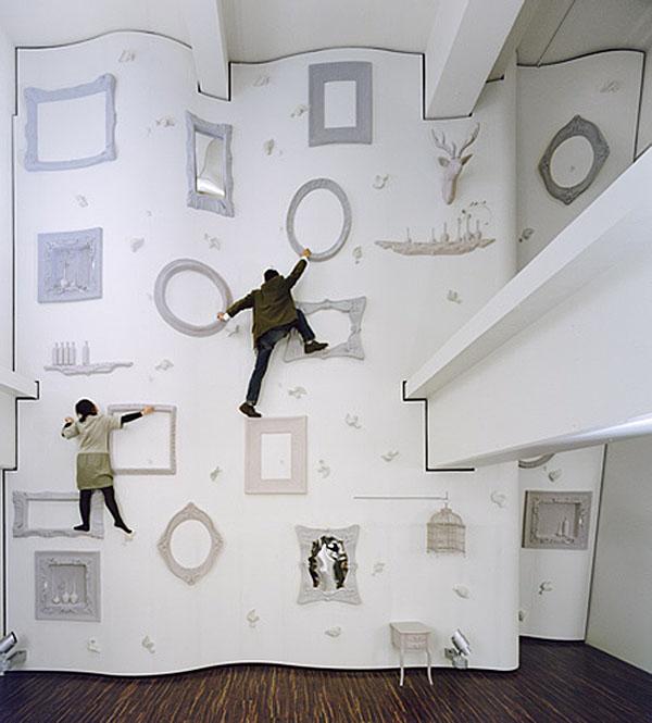 Climbing a Wall in Wonderland - My Modern Metropolis