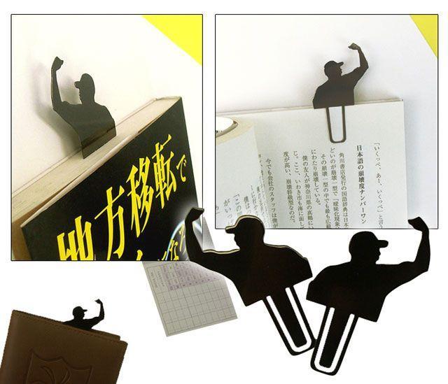 Print not Dead: 25 Creative Bookmark Designs | inspirationfeed.com