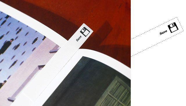 Print not Dead: 25 Creative Bookmark Designs   inspirationfeed.com