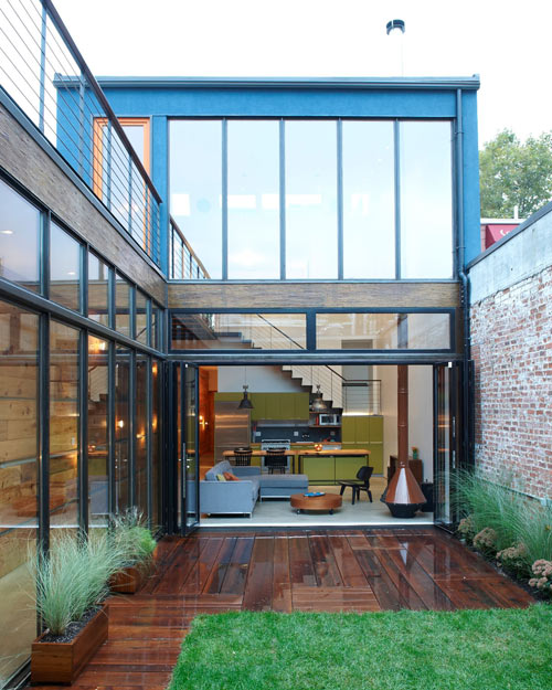 Atrium House By MESH Architectures | Design Milk