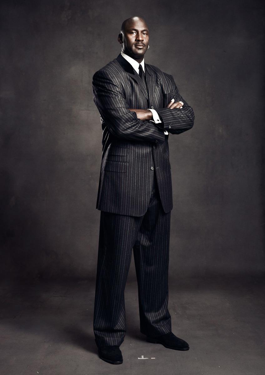 Michael Jordan: Marcus Eriksson / Photographe