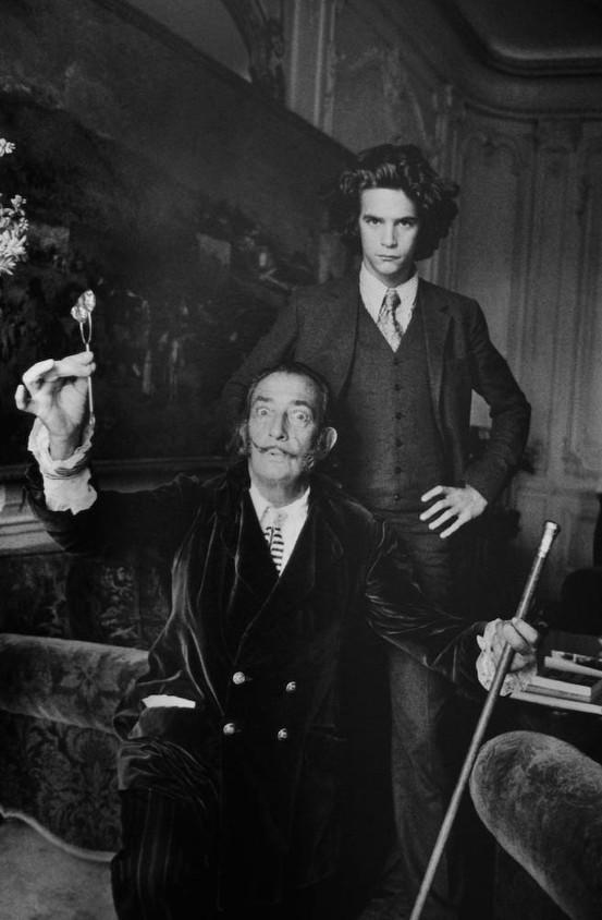 Black & White is Better / Salvador Dali and Yves Saint Laurent