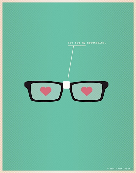 Illustrations for Nerds in Love | Abduzeedo | Graphic Design Inspiration and Photoshop Tutorials