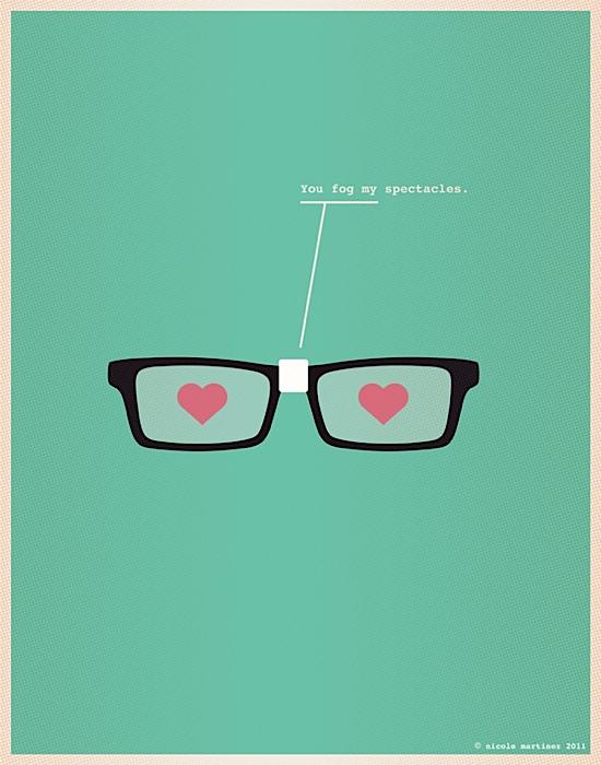 Illustrations for Nerds in Love | Abduzeedo | Graphic Design Inspiration and Photoshop Tutorials