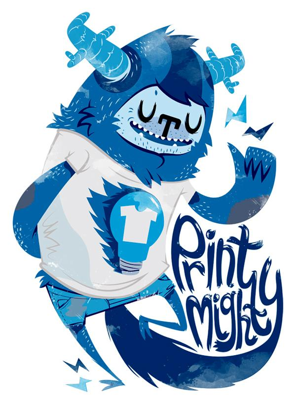Print Mighty T-Shirt