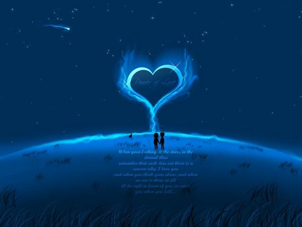 blue,love blue love dark moon hearts aliens 1024x768 wallpaper – Moon Wallpaper – Free Desktop Wallpaper