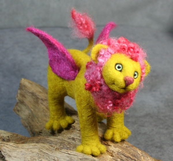 Manicore - needle felted | Flickr - Photo Sharing!