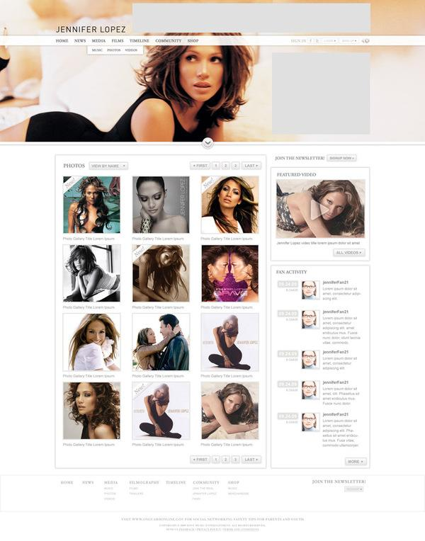 Jennifer Lopez Official Site
