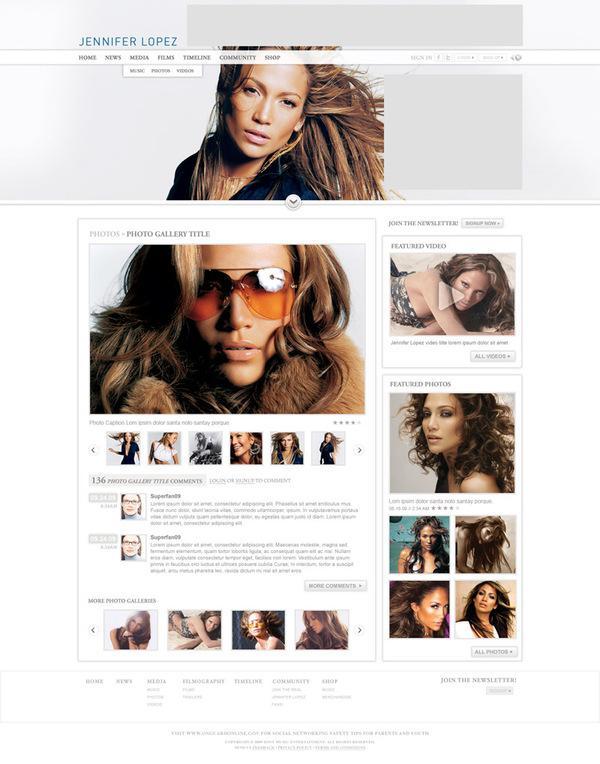 Jennifer Lopez Official Site