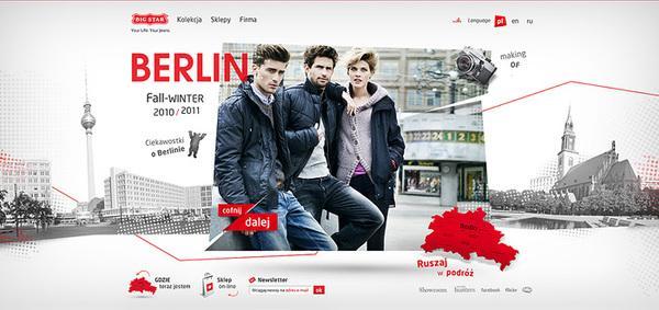 Big Star Berlin on Web Design Served