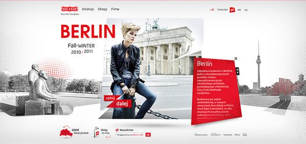 Big Star Berlin on Web Design Served