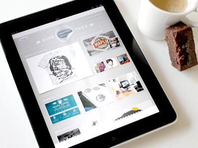 Laye.rs iPad App by Maxime De Greve ?