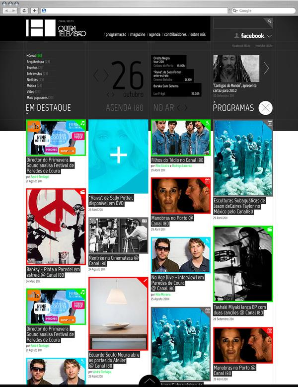Canal 180 on Web Design Served