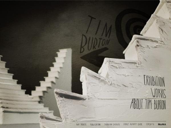 The MoMA presents Tim Burton on Web Design Served