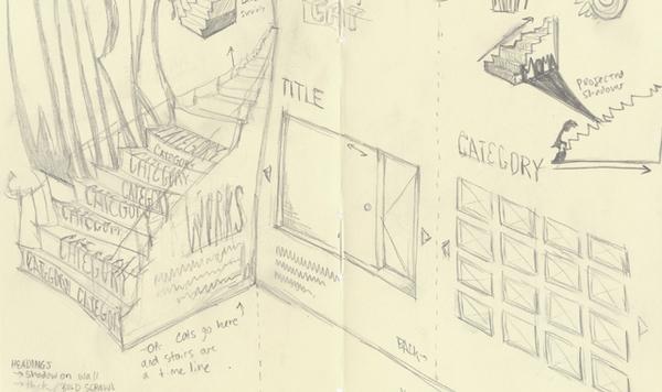 The MoMA presents Tim Burton on Web Design Served