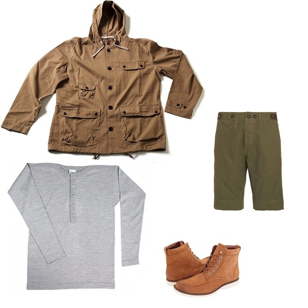 Universal Works Scout Anorak in Stone | SNS Herning Under Plank Grey Melange | Garbstore Peasant Chino Short Trouser Olive | Wolverine Clapton Boot discount sale voucher promotion code | fashionstealer