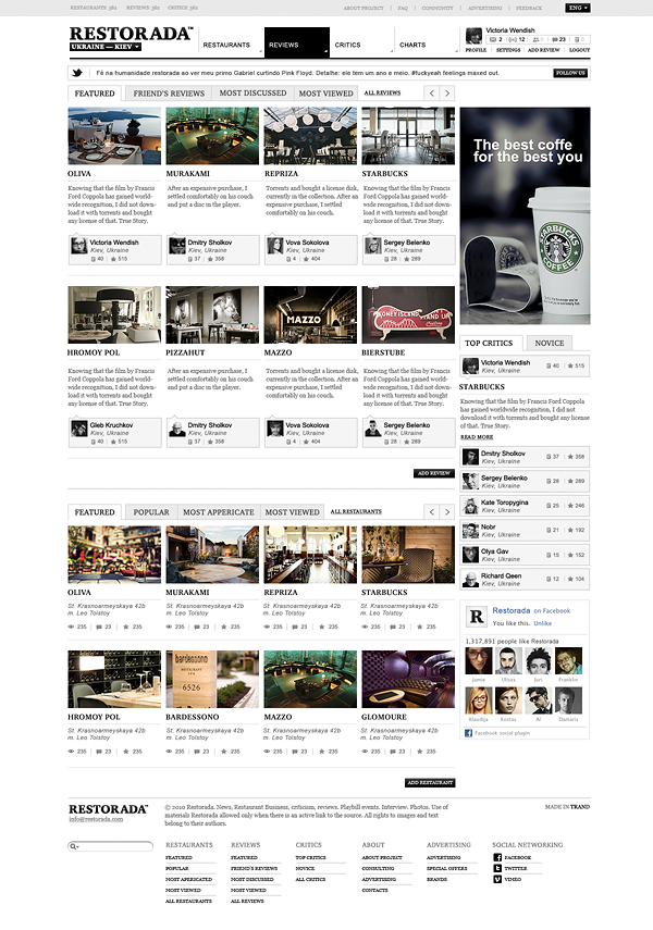 Restorada on Web Design Served