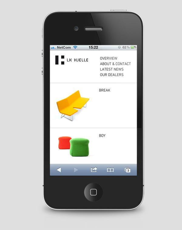 LK Hjelle on Web Design Served