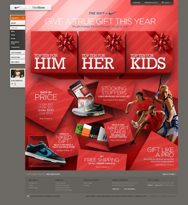 NikeStore.com Holiday Campaign - Killahgrafikz™ | Art Direction & Design