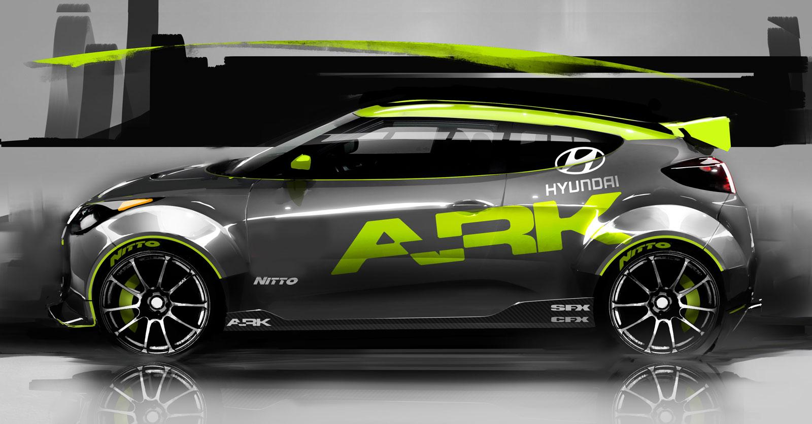 Hyundai Veloster by Ark Performance - Car Body Design