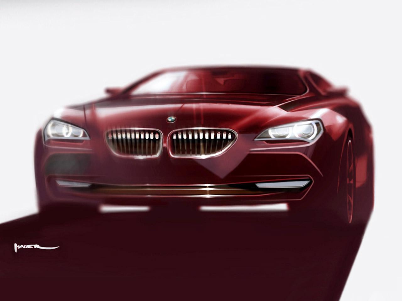 BMW 6 Series Coupe Design Sketch - Car Body Design