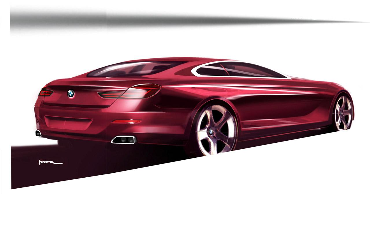 BMW 6 Series Coupe Design Sketch - Car Body Design