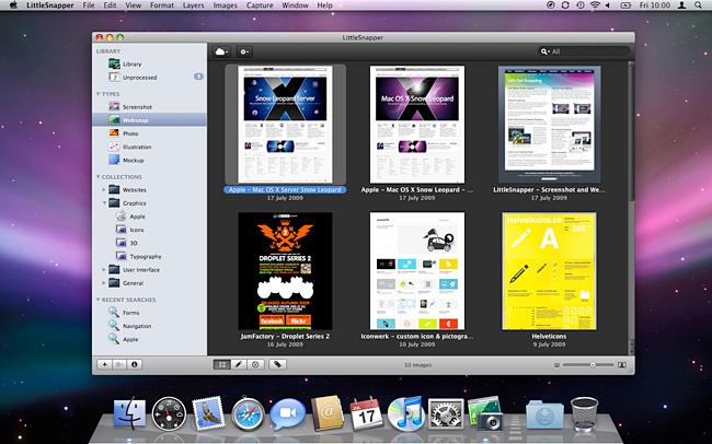 LittleSnapper - Screenshot and Website Capture for Mac