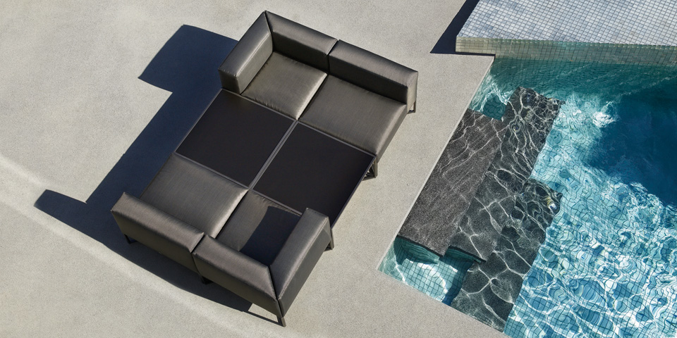 Outdoor Furniture - Bloc from Gloster | Jardin de Ville