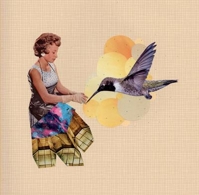 feed the bird Art Print by cardboardcities | Society6