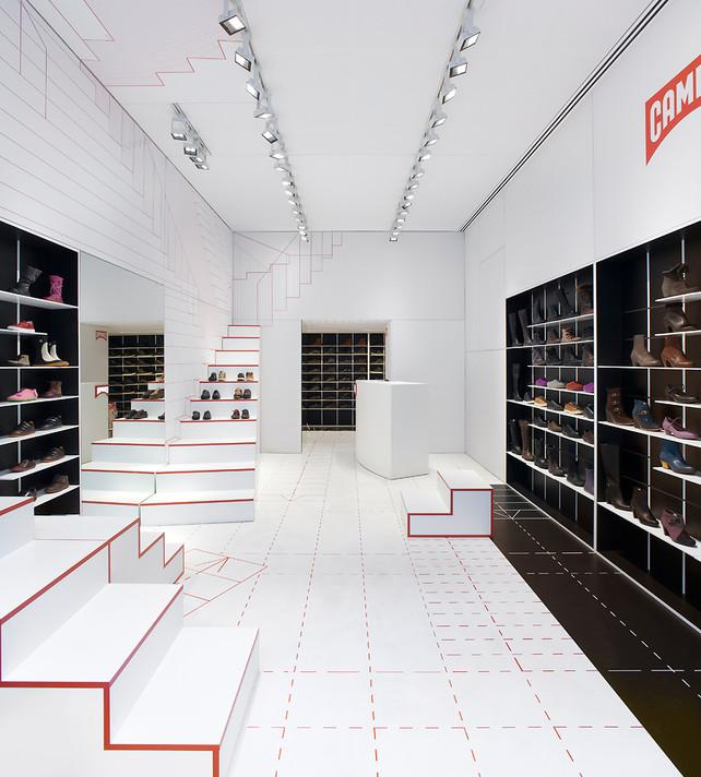 Camper's New Shoe Store Visualizes The Act Of Walking | Co.Design: business + innovation + design