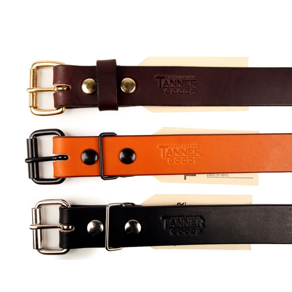 Tanner Goods Belts discount sale voucher promotion code | fashionstealer