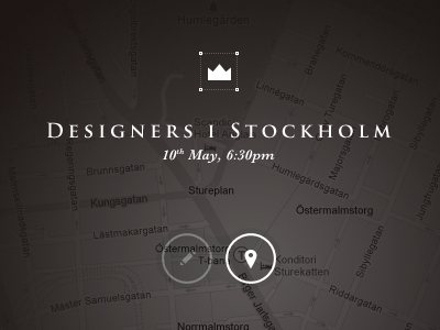 Designers i Stockolm — Map by Dennys Hess