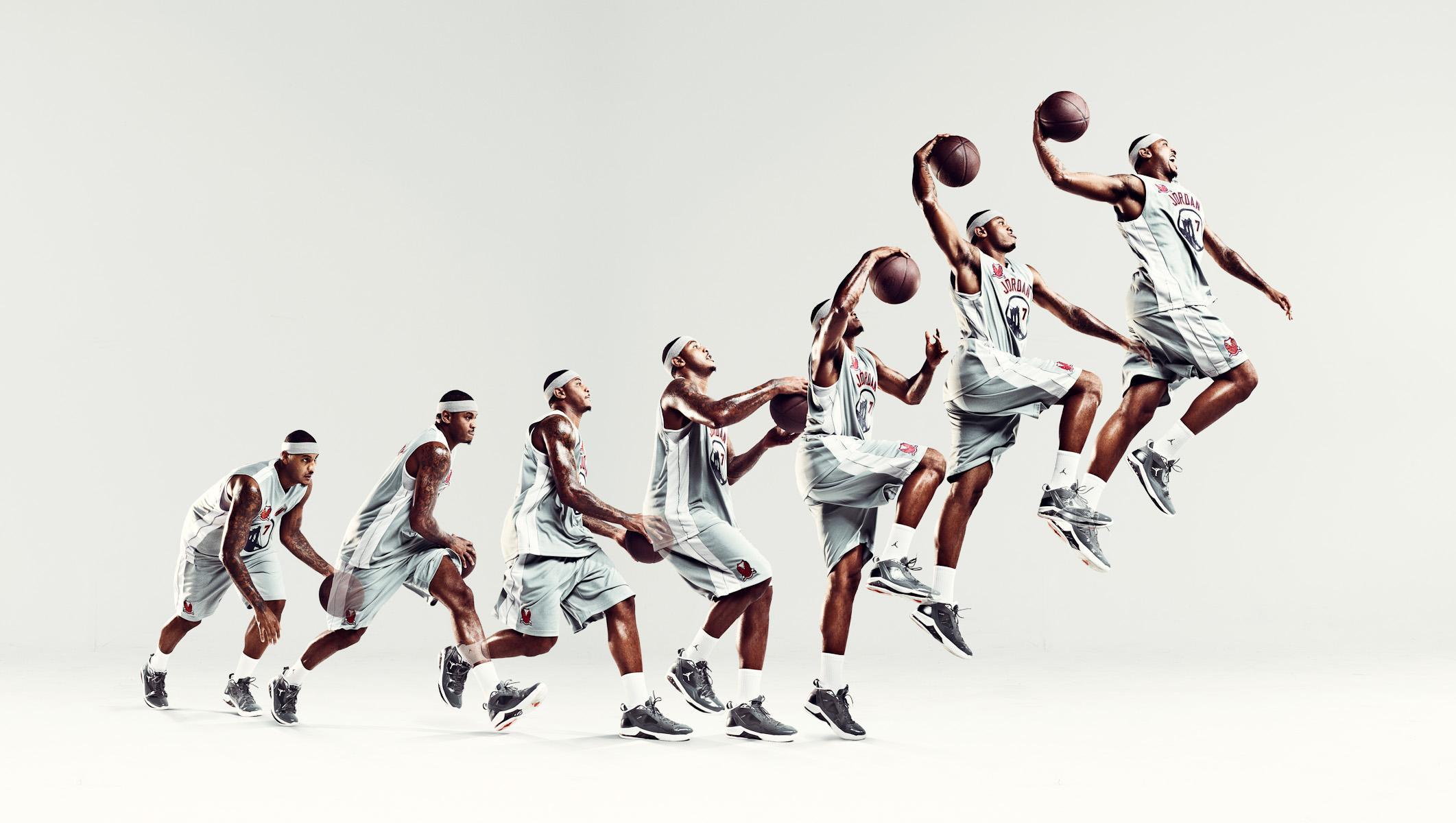 Carmelo Anthony: Marcus Eriksson / Photographe