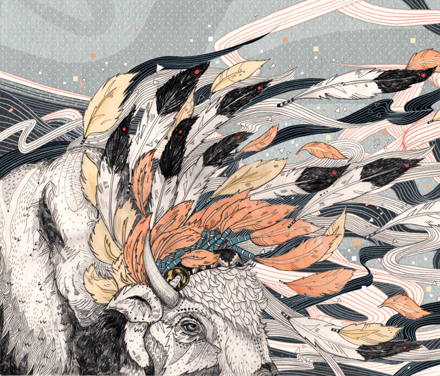 Sandra Dieckmann Illustration: A Magic Breeze & The Alternative Press Fair